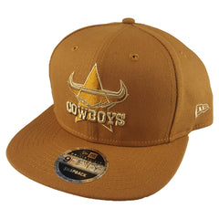 NEW ERA 9FIFTY - NRL Culture Collection Toasted Peanut - North Queensland Cowboys