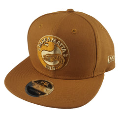 NEW ERA 9FIFTY - NRL Culture Collection Toasted Peanut - Parramatta Eels