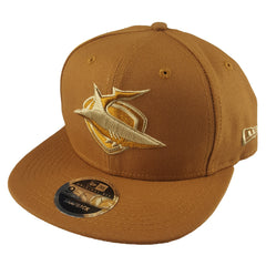 NEW ERA 9FIFTY - NRL Culture Collection Toasted Peanut - Cronulla-Sutherland Sharks