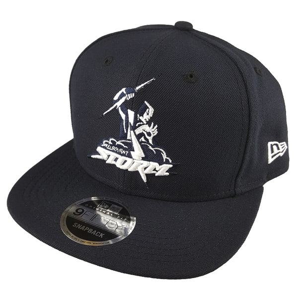e17522b7693 NEW ERA 9FIFTY - NRL Culture Collection Navy Wheat - Melbourne Storm ...