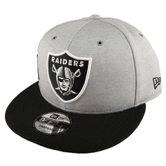 NEW ERA 9FIFTY - 2018 NFL Sideline Home - Oakland Raiders