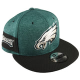 NEW ERA 9FIFTY - 2018 NFL Sideline Home - Philadelphia Eagles