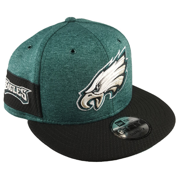 4b93867f9f8 NEW ERA 9FIFTY - 2018 NFL Sideline Home - Philadelphia Eagles