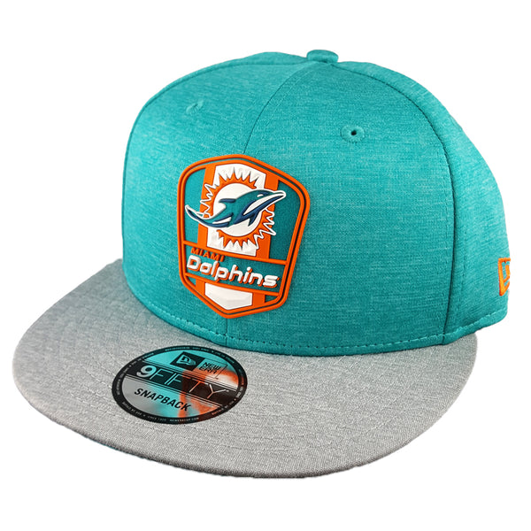 NEW ERA 9FIFTY - 2018 NFL Sideline Snapback Road - Miami Dolphins
