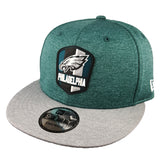 NEW ERA 9FIFTY - 2018 NFL Sideline Snapback Road - Philadelphia Eagles