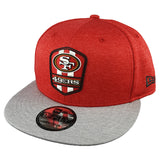 NEW ERA 9FIFTY - 2018 NFL Sideline Snapback Road - San Francisco 49ers