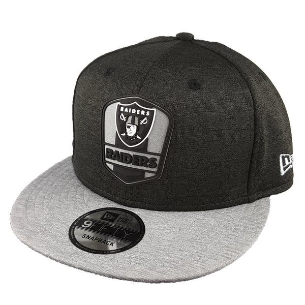 NEW ERA 9FIFTY - 2018 NFL Sideline Snapback Road - Oakland Raiders ... dd197dbe1