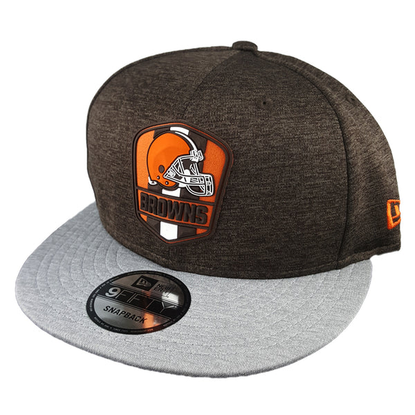 1a23ac54 ireland cleveland browns new era nfl heather grand 9fifty snapback ...