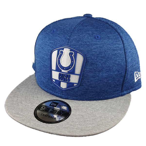 wholesale dealer ca3f7 b7a27 NEW ERA 9FIFTY - 2018 NFL Sideline Snapback Road - Indianapolis Colts