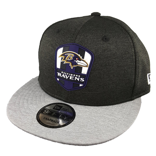 NEW ERA 9FIFTY - 2018 NFL Sideline Snapback Road - Baltimore Ravens