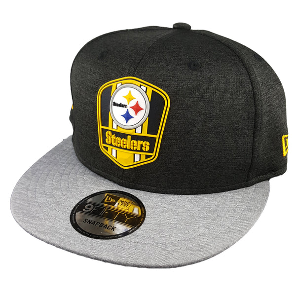 NEW ERA 9FIFTY - 2018 NFL Sideline Snapback Road - Pittsburgh Steelers