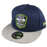 NEW ERA 9FIFTY - 2018 NFL Sideline Snapback Road - Seattle Seahawks