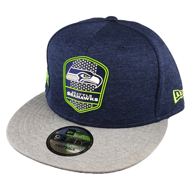 259eb2cdcf7 NEW ERA 9FIFTY - 2018 NFL Sideline Snapback Road - Seattle Seahawks ...