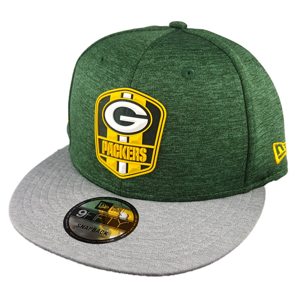 NEW ERA 9FIFTY - 2018 NFL Sideline Snapback Road - Green Bay Packers