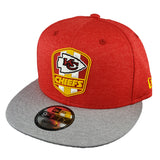 NEW ERA 9FIFTY - 2018 NFL Sideline Snapback Road - Kansas City Chiefs