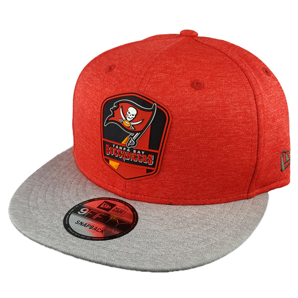 NEW ERA 9FIFTY - 2018 NFL Sideline Snapback Road - Tampa Bay Buccaneers