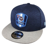 NEW ERA 9FIFTY - 2018 NFL Sideline Snapback Road - Tennessee Titans