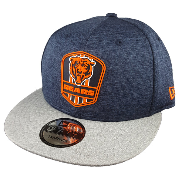 NEW ERA 9FIFTY - 2018 NFL Sideline Snapback Road - Chicago Bears