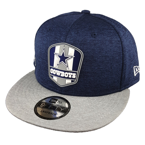 4ff6d0e4016 NEW ERA 9FIFTY - 2018 NFL Sideline Snapback Road - Dallas Cowboys ...