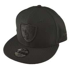 NEW ERA 9FIFTY (Youth) - Black Diamond Snapback - Oakland Raiders