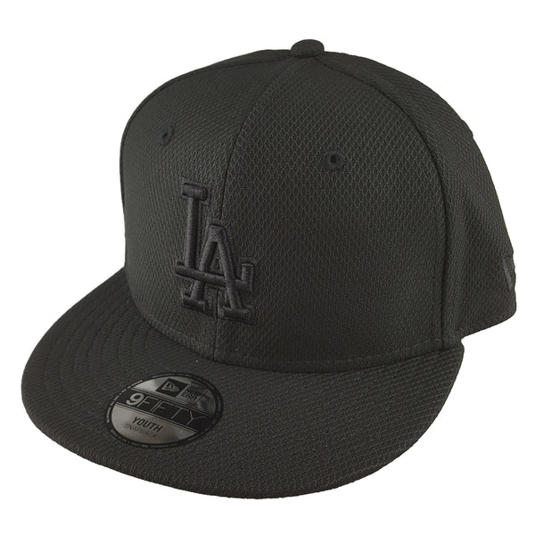 NEW ERA 9FIFTY (Youth) - Black Diamond Snapback - Los Angeles Dodgers