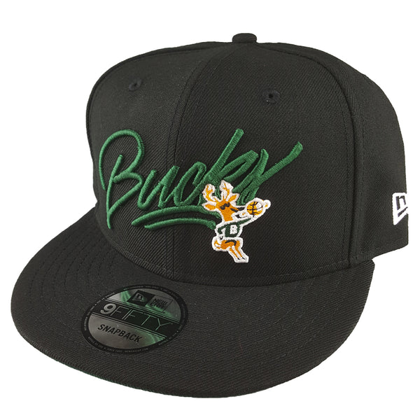 NEW ERA 9FIFTY - NBA HWC Script - Milwaukee Bucks