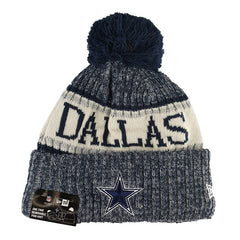 NEW ERA - 2018 NFL Sideline Knit Beanie - Dallas Cowboys