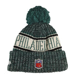 NEW ERA - 2018 NFL Sideline Knit Beanie - Philadelphia Eagles