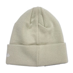 NEW ERA - 6 Dart Cuff Knit Beanie - Stone