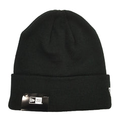 NEW ERA - 6 Dart Cuff Knit Beanie - Black