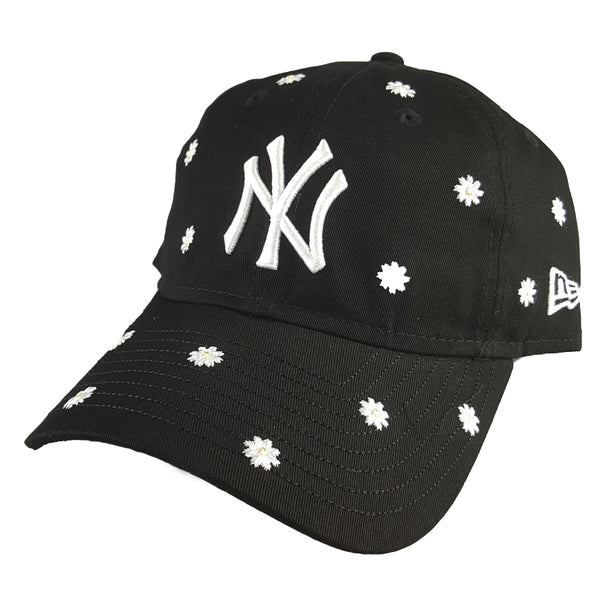 NEW ERA 9TWENTY (Womens) - Floral Daisy All Over Black - New York Yankees