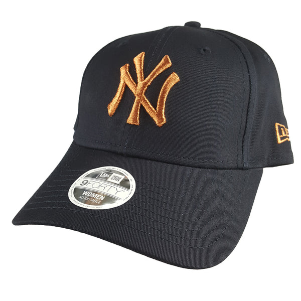 NEW ERA 9FORTY (Womens) - Rose Gold Accent - New York Yankees  418ae1b6c0f