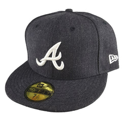 NEW ERA 59FIFTY -  MLB Heather Navy Nation - Atlanta Braves