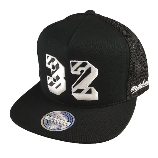 Mitchell & Ness - Name & Number 110 Snapback - Los Angeles Lakers Magic Johnson #32