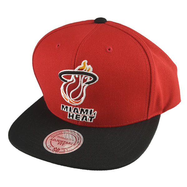 Mitchell & Ness - Satin Fused NBA Snapback - Miami Heat