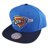 Mitchell & Ness - Satin Fused NBA Snapback - Oklahoma City Thunder