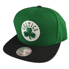 Mitchell & Ness - Satin Fused NBA Snapback - Boston Celtics