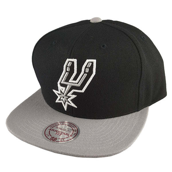 Mitchell & Ness - Satin Fused NBA Snapback - San Antonio Spurs