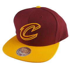 Mitchell & Ness - Satin Fused NBA Snapback - Cleveland Cavaliers
