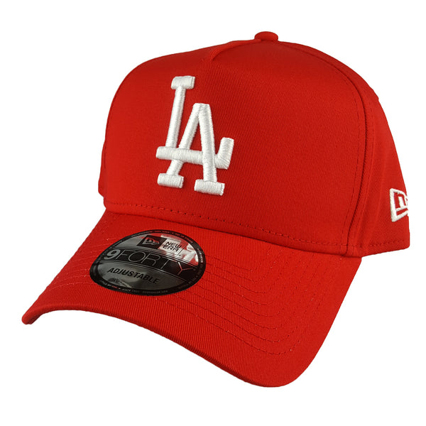 NEW ERA 9FORTY A-FRAME - Seasonal Colours Red - Los Angeles Dodgers