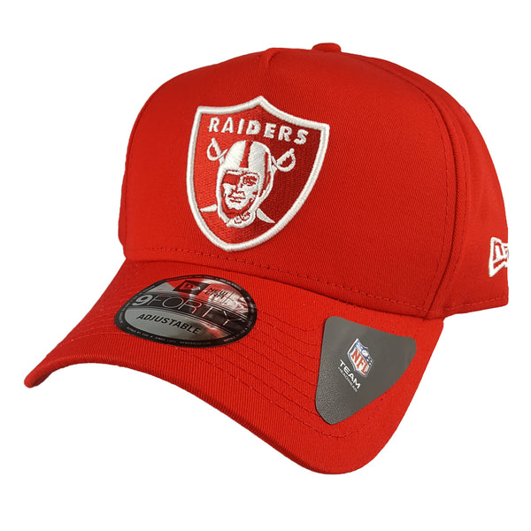 NEW ERA 9FORTY A-FRAME - Seasonal Colours Red - Oakland Raiders