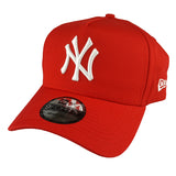 NEW ERA 9FORTY A-FRAME - Seasonal Colours Red - New York Yankees