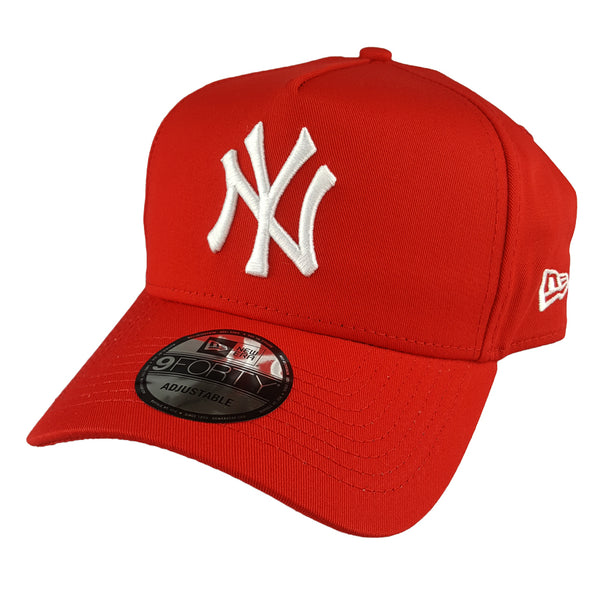 99e48721aa1 NEW ERA 9FORTY A-FRAME - Seasonal Colours Red - New York Yankees ...