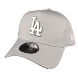 NEW ERA 9FORTY A-FRAME - Seasonal Colours Grey - Los Angeles Dodgers