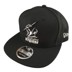 NEW ERA 9FIFTY Original Fit - Black & Silver - Melbourne Storm