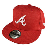 NEW ERA 9FIFTY - MLB Scarlet Shadow Tech - Atlanta Braves