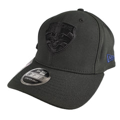 NEW ERA 9FIFTY STRETCH SNAP - AFL Black on Black - Geelong Cats