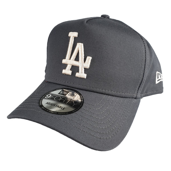 NEW ERA 9FORTY A-FRAME - Dark Graphite - Los Angeles Dodgers