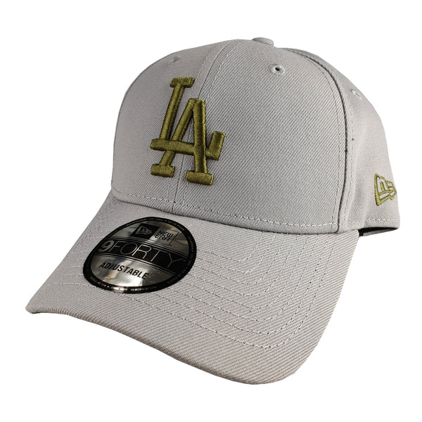 NEW ERA 9FORTY - Seasonal Colours Grey - Los Angeles Dodgers