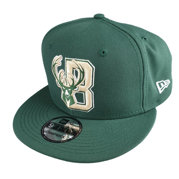 NEW ERA 9FIFTY - NBA Authentics Back Half Series - Milwaukee Bucks